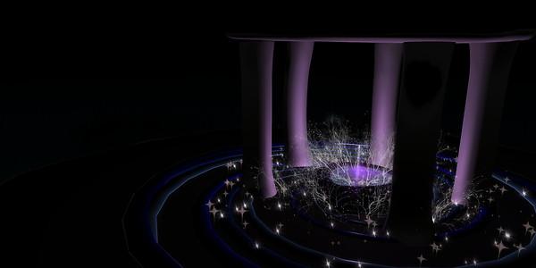 QT Fae pool & Ice island ambient dark 2048