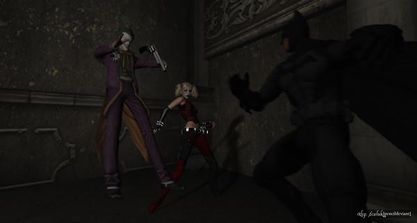 Batman Tracks Joker and Harley - 03