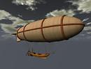 Drow Science Steampunk Airship 1