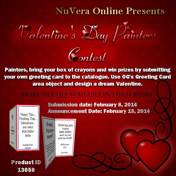 Valentine's Painter Contest 2014