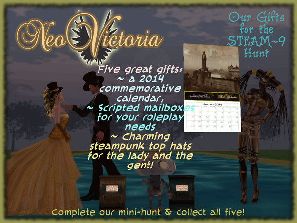 NeoVictoria's Gift Photo for the STEAM9 Hunt