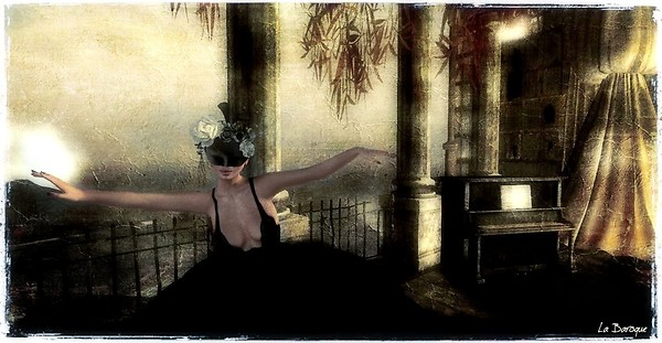 Dancing behind a mask