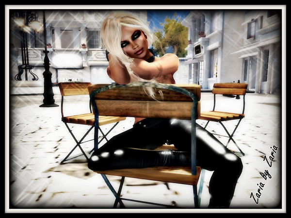 Zaria in a chair 1