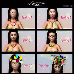 Anggun Spring Necklaces Gacha