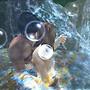 in waterfall pot