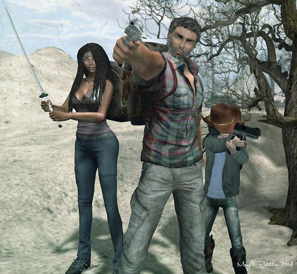 Family Portrait in the Zombie Apocalypse