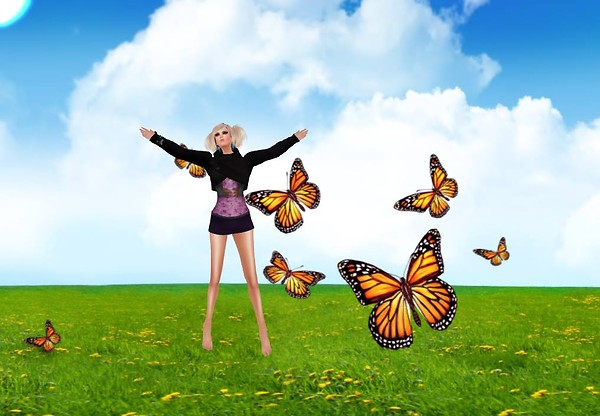 lets go out and play with the butterflies