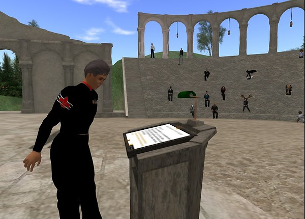 David Gibson Keynote at VWBPE - chimera.cosmos