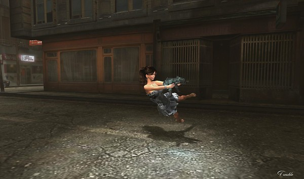 Urban Grunge the fight