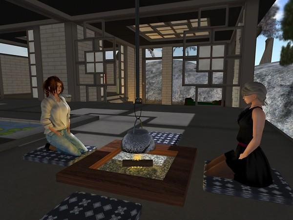 Spiral & Chimera at the Japanese House - chimera.cosmos