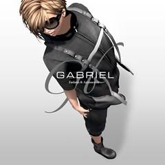 GABRIEL HN hoody / Short sleeves