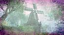 Windmill in Pastels