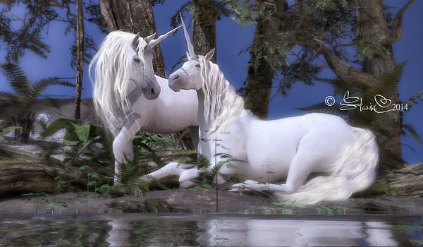Legend of the Unicorns.....