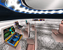 Interior Space ship