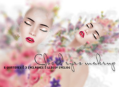 closed eyes makeup