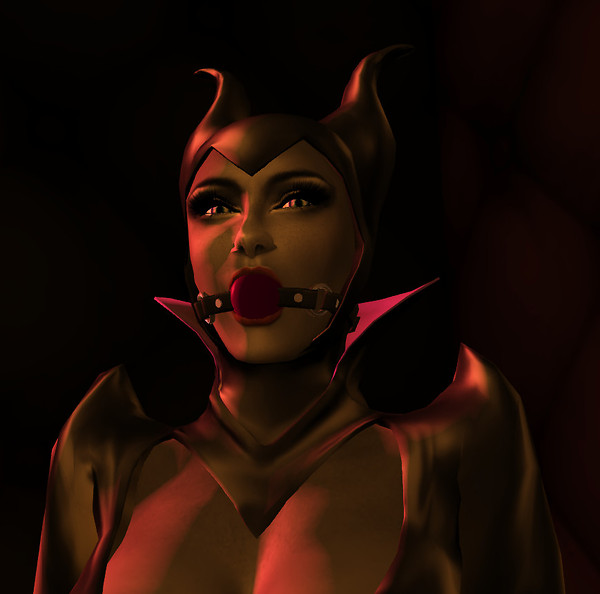 The Sorceress Bound And Gagged I