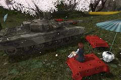 戦車を愛でる