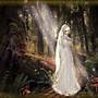 De vrouwelijke geest van het bos