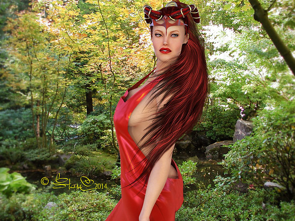 Maleficent In Red.....