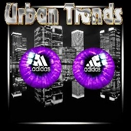 adidas purple eyes set