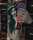 American Idiot Details Meryll as Lady Liberty