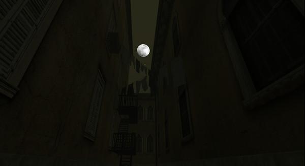 thebasilique night moon