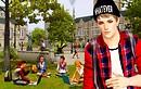 joshy first day sims 2 university