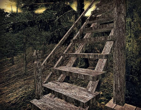 Heimili Torvaldsland - Stairs