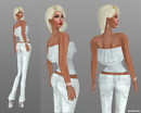 White Gizza outfit2