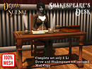 Shakespeare's Desk Ad
