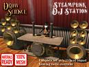 Steampunk Mesh DJ Station Ad