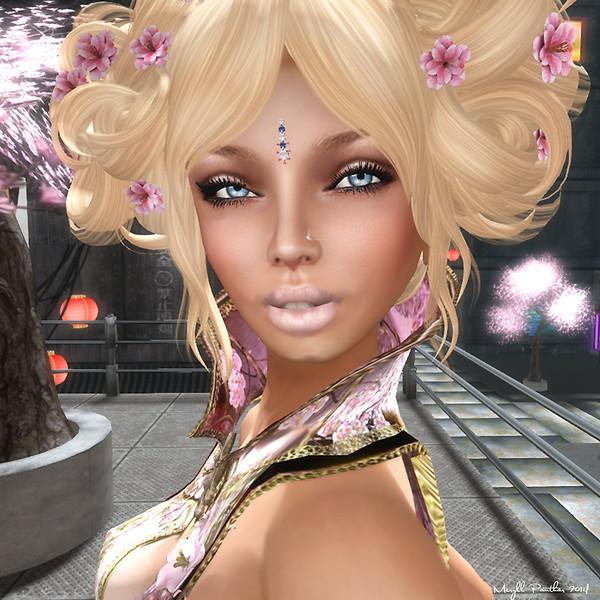 Hirijuku Girl Close Up