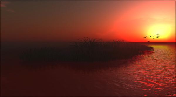 Sarawak -sun set-