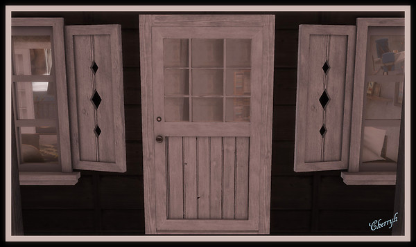 RUSTIC DOOR 1 SIGNED AND EDITED