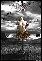Surrealism: Treewoman