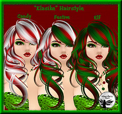 Klasike Hairstyle in 3 Holiday colors