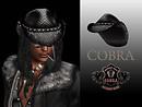 Cowboy Hat COBRA - Modeled POP Slide #1