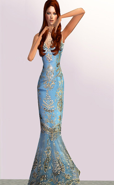 Dalyce evening dress