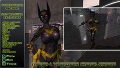 Cyberstrike Batgirl SB