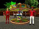 Ez and Devi carousel