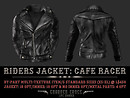 Riders Jacket: Cafe Racer - New Product Release Notice/POP Slides