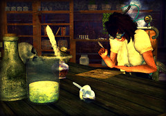 NeoLondon - Apothecary, research time