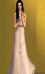 Samah evening gown