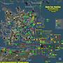 Blake Sea and surrounding areas