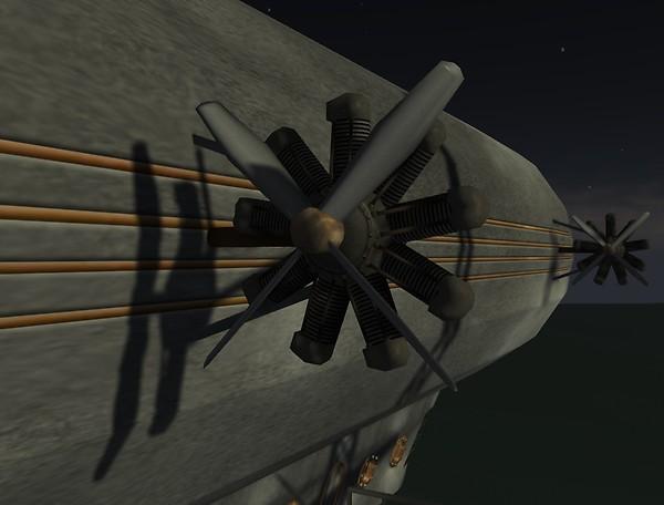 """Drow Science DZ-1 """"Zephyr"""" - Engine & Propeller"""