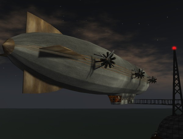 "Drow Science DZ-1 ""Zephyr"" - Nice Rear!"