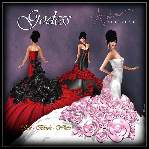 Godess-Red.Black.White