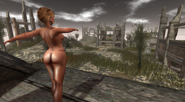 Nude in ruins_009