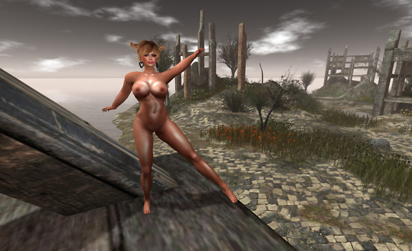 Nude in ruins_006