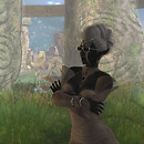 Drow in the moongarden Arwynd (142, 113, 2504) - Moder